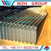 Buy cheap 0.13-0.5mm  900mm galvanized corrugated steel sheet as roofing materials from wholesalers