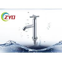 Buy cheap Chrome Plated Water Tap Faucet Single / Hole Handle Deck Mounted Type from wholesalers