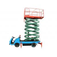 Buy cheap 9m Truck Mounted Scissor Lift Battery Operated Aerial Work Platform 500Kg Loading from wholesalers
