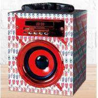 Buy cheap Wood Mini Portable Bluetooth  Speaker with 3.5mm Aux, FM Function, Micro SD Card Support . from wholesalers