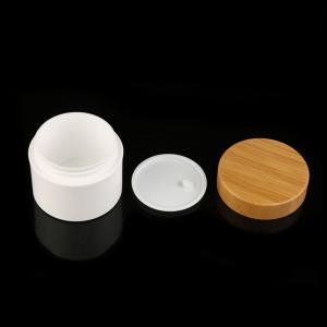 Buy cheap Pp Serum Eco Friendly Bamboo Lid Cosmetic Cream Jar product