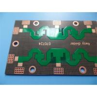 Buy cheap High frequency PCB on PTFE 1.5mm 2 Layer Green Solder Mask and OSP from wholesalers