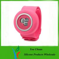 Buy cheap Colorful Silicone Strap Watches, Slap Silicon Watch For Hour / Minute / Second Display from wholesalers