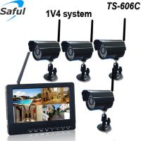 """Buy cheap Best security system 7"""" LCD monitor support 32G SD card record video take pictures 4ch cctv dvr kit from wholesalers"""