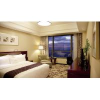 China Blackout Traverse Blackout Curtains , Traverse Rods And Curtains Easy Control System on sale