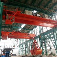Buy cheap 10T Double Girder Overhead Grab Crane In City Waste Incineration Plant from wholesalers