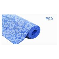 Buy cheap 6MM PVC Fitness Gym Exercise Yoga Mat with printing ,yoga mat for professional trainer, eco pvc yoga mat on sale from wholesalers