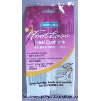 Buy cheap Customized Purple Aluminium Foil Bag For Insoles , Sealing Plastic Bags from wholesalers