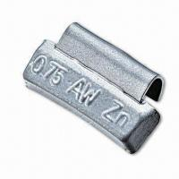 China Zinc Coated Wheel Balance Weight, Various Sizes are Available, Suitable for Older Vehicles on sale
