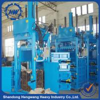Buy cheap Aluminum Can Compactor Machine/Cotton Bale Press Machine/Tire Baler Machine For Sale from wholesalers