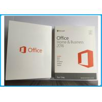 Buy cheap Microsoft Office 2016 Home And Business for MAC Software PKC / Retail Version from wholesalers