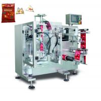 Buy cheap 30g Stick Bag Type /  3 Side Sealing Pouch Flour Powder Packing Machine PLC Control 30-60 Sachets/Minute from wholesalers