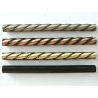 Buy cheap China Manufacture Twisted tubes steel stair baluster iron spindle electroplating cast iron twist baluster from wholesalers