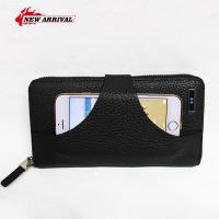 Buy cheap Wallet with mobile phone holder the Genuine Leather business Wallet from wholesalers