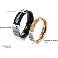 Buy cheap Elegant women and mens cross stainless steel rings jewelry from wholesalers