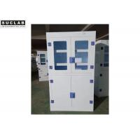 Buy cheap Full Steel Flammable Liquid Cabinet , Blue Gas Cylinder Gas Storage Cabinets from wholesalers