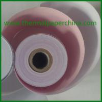 Buy cheap 76x76 2 ply NCR paper roll from wholesalers