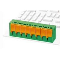 Buy cheap 2 Way Spring Connector Terminal Block Universal PCB Type Plug In Terminal Block from wholesalers
