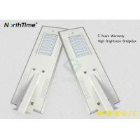 Buy cheap Motion Sensor All In One Solar LED Street Light With LiFePO4 Battery from wholesalers