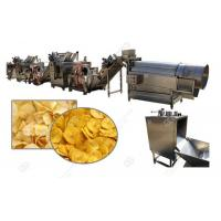 Buy cheap Factory Price Banana Plantain Chips Processing Line Suppliers/Easy Operate Banana Chips Making Line Stainless Steel from wholesalers