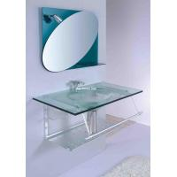 wash basin with soap dish and towel rack with single faucet hole bathroom vanity