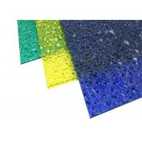 Buy cheap Extruded Polycarbonate Plastic Roof PanelEmbossed For Indoor Decoration from wholesalers