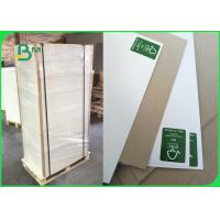 Buy cheap Recyclable Solid White Board , Duplex Coated Board 250gsm Uniform Coating from wholesalers