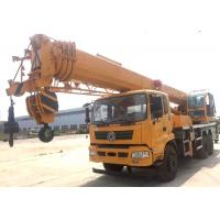 Buy cheap Durable Heavy Construction Machinery 25T Truck Mounted Jib Crane With Telescopic Boom from wholesalers