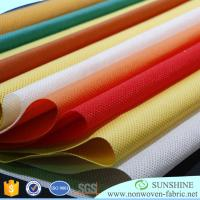 Buy cheap Best quality for colorful PP spunbond nonwoven fabric,100%polypropylene,medical,qgriculture,bags,tnt tablecloth from wholesalers