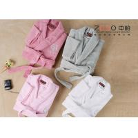 Buy cheap Professional Hotel Style Dressing Gowns , Womens Spa Robes Easy Wash from wholesalers
