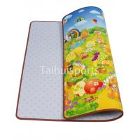Kids Cushioned Playmat Soundproofing / Cushioned Baby Play Mat Non Toxic