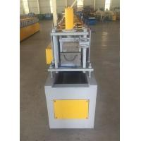 Buy cheap yellow Gutter Roll Forming Machine 5.5kw Frequency Converter And 1'' Chain Transmission from wholesalers