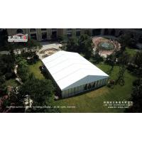 Buy cheap high quality elegant 500 people wedding marquee tent with glass panel decoration in south africa for sale from wholesalers