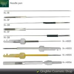 Buy cheap Lip / Eyebrow / Eyeliner Tattoo Machine Needle , Precision Sterile Tattoo Needles from wholesalers