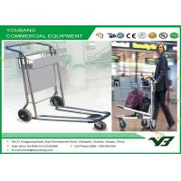 Buy cheap Aluminum alloy  Airport Luggage Trolley / Airport Baggage Cart with brake from wholesalers