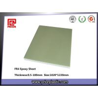 Buy cheap Epoxy Glass Fabric Laminated Sheets (G10/FR4) from wholesalers