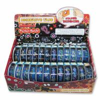 Buy cheap OPP PRINTED TAPE X'MAS DESIGN IN DISPLAY BOX from wholesalers