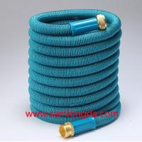 Buy cheap 2017 Expandable Garden hose,50FT Best garden hose with brass quick coupling, green color expanding water hose from wholesalers