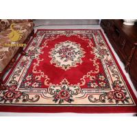 Buy cheap Comfortable Persian Hand Knotted Rugs , Red And Blue Persian Rug Wear Resistant from wholesalers