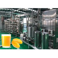 Buy cheap Professional Mango Processing Line / Safety Mango Juice Processing Plant from wholesalers