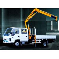Buy cheap XCMG Durable Arm Move Fast Articulated Boom Crane , 3.2 Ton Truck With Crane from wholesalers