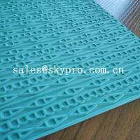 Buy cheap Customized eva+ rubber foam sheet for sole soft  with 3D pattern product