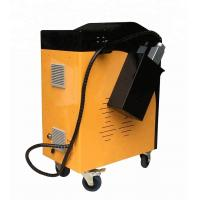 Buy cheap Overseas service provided handheld 120w fiber pulsed laser cleaning machine for rust removal product