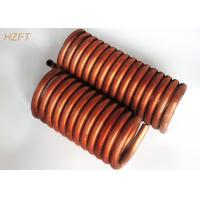 Buy cheap Flexible Fin Coil Heat Exchanger in Coaxial Evaporators , Fan Coil Unit from wholesalers