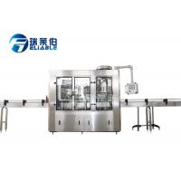 Buy cheap Small Scale Soda Glass Bottle Filling Machine / Water Bottling Equipment from wholesalers