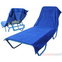 Buy cheap 100% Cotton Lounge Chair Towels Lint Free, Ultra Soft, Durable, Scratch-Free, Machine Washable. from wholesalers