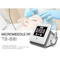 Buy cheap Fractional Microneedle RF Skin Tightening Wrinkle Removal Machine For Face / Body from wholesalers