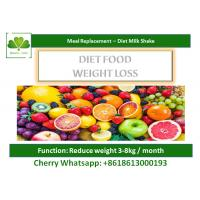 Buy cheap OEM Low Fat Strawberry Milkshake , Slimming / Detoxing Meal Supplement Drinks from wholesalers