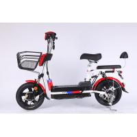China 350 Watt Brushless Motor Folding Electric Bicycle With 48V 12Ah Removable Battery on sale