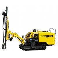 Buy cheap 239Kw Crawler Mining Quarry Air Track Drill , 18m Drilling Rig from wholesalers